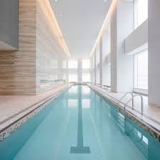 Residential Indoor Pool New Images Reveal 432 Park Avenue U0027s Luxury Amenity Spaces 432