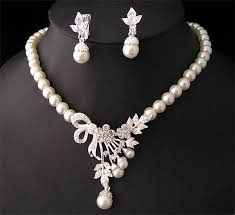pearl necklace jewelry designs 2014 for fashion 3
