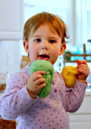 my kid eats play doh an all natural play dough recipe