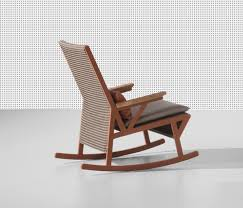 Kettal Outdoor Furniture Vieques Rocking Chair Teak Armrests By Kettal Garden Armchairs