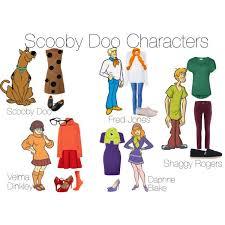 Scooby Doo Gang Halloween Costumes Scooby Doo Characters