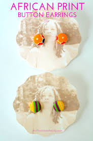 diy button earrings diy fabric button earrings thriftanista in the city