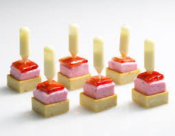 canapes anglais strawberry shortcake made with a shortcake cookie a strawberry