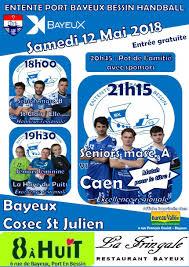 bureau vallee bayeux match de handball ville de bayeux