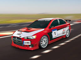 mitsubishi rally car mitsubishi lancer evo x race car high resolution image 1 of 1
