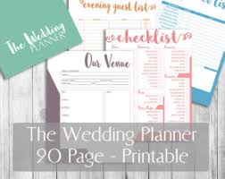the wedding planner and organizer destination wedding planner printable 8 5 x11 letter size