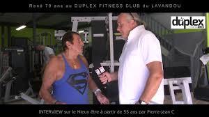 Rene Meme Bodybuilding - ren礬 bochard 80 ans au duplex fitness du lavandou youtube