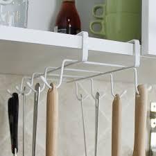 under cabinet coffee mug rack mug rack stainless steel hanger hooks cupboard coffee cup holder