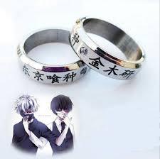 anime wedding ring tokyo ghoul kaneki ring animefit