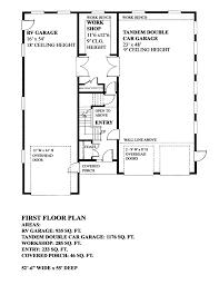 Rv Garage Floor Plans Garage Plan 76034 At Familyhomeplans Com
