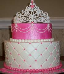 cake for a one year old princess the smash cake is the top tier