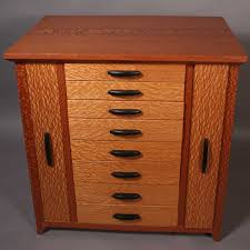 Cabinet Top Lacewood Custom Jewelry Cabinet