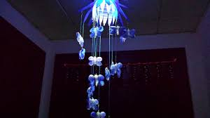 Blue Bottle Chandelier by How To Make Chandelier Out Of Waste Youtube