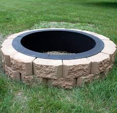 building fire pit out of bricks fire pit bricks in square shapes