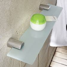 Glass Bathroom Accessories by Bathroom Accessories Blomus Duo Glass Bathroom Shelf Nova68