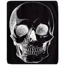 skull bedding rock and roll decor by in linen