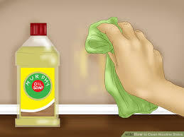 how to clean wall stains 3 ways to clean nicotine stains wikihow