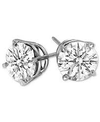 diamond stud earings diamond stud earrings macy s