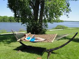 wicker hammock stand canada
