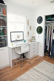 our new home closet office style me grasie