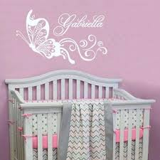 Wall Name Decals For Nursery Best Baby Name Decals For Nursery Cherry Blossom Tree Wall Decal