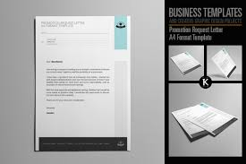 promotion request letter template promotion request letter a4 format temp design bundles promotion request letter a4 format template example image 1