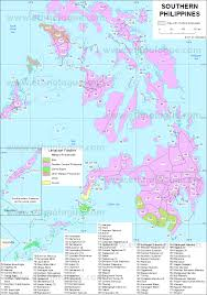 Philippines Map World by Southern Philippines Ethnologue