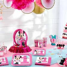 baby minnie mouse 1st birthday minnie mouse birthday partyware disney baby