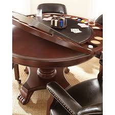 Poker Dining Table by Talley Dining And Game Table Set Choose Black Or Brown Sam U0027s