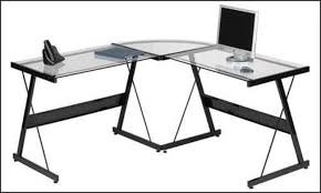 Office Depot Glass Computer Desk Attractive Office Depot Glass Computer Desk Eksterior Ideas