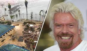 hurricane irma richard branson survives devastation by hiding in
