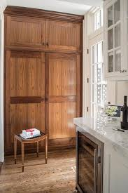 kitchen pantry cabinet oak white kitchen with stained oak pantry cabinets