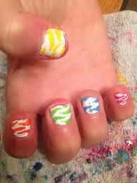 cute little nails i did nails pinterest girls nails