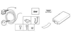 13 pin towbar wiring u0026 trailer module v70 u0026 xc70 2008