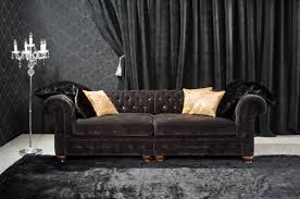 Velvet Chesterfield Sofa Sale by Contemporary Black Velvet Sofa Bed Bold S3net Sectional Sofas