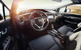 inside of a honda civic 2015 honda civic sedan interior photo gallery official site