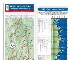 Virginia Wine Trail Map by Amazon Com Appalachian Trail Pocket Profile Map Southern