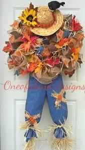top 25 best scarecrow wreath ideas on pinterest fall wreaths