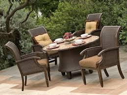 Glass Patio Table Set Modern Outdoor Dining Table Lowes Patio Furniture Clearance 60