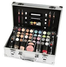 Make Up Vanity Case Amazon Com Make Up Set Vanity Case Gift Cosmetics 51 Piece Clothing