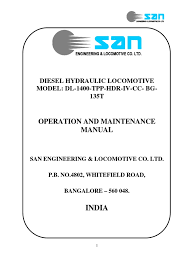 operation manual for san 1400 tpp hdr iv cc bg 135t transmission