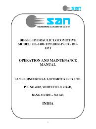 operation manual for san 1400 tpp hdr iv cc bg 135t transmission