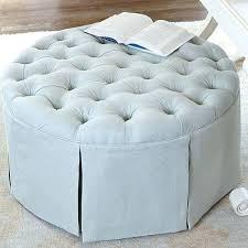 Kinfine Storage Ottoman Kinfine Usa Large Round Button Tufted Storage Ottoman Round Tufted