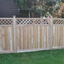 wooden fence design for rural area garden landscape metal newest