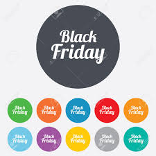 black friday sale sign black friday sale sign icon special offer symbol round colourful