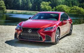 abby lexus massively overhauled 2018 lexus ls is fast luxurious sfgate