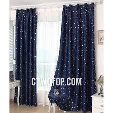 Kids Room Blackout Curtains Contemporary Modern Kids Room Blackout Dark Blue Star Curtains