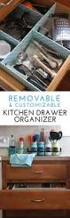 Organize Kitchen Drawers How To Make A Customizable Kitchen Drawer Organizer