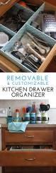 Rental Kitchen Ideas How To Make A Customizable Kitchen Drawer Organizer