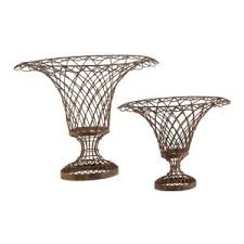 Country Baskets 41 Best French Wire Images On Pinterest Urn Wire And Wire Baskets
